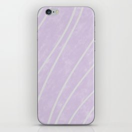 Purple Points in Oils iPhone Skin