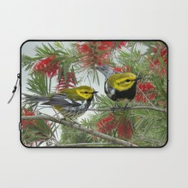 Black-throated Green Warbler Laptop Sleeve