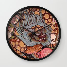 Foo Dog Wall Clock
