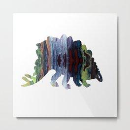 Stegosaurus art Metal Print