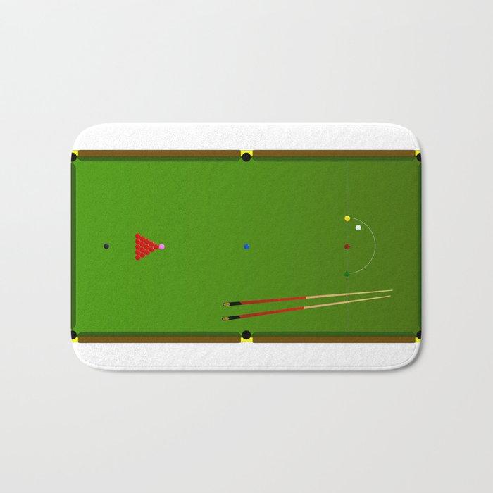 Snooker Cues Bath Mat