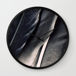 Dark Wing #1 Wall Clock