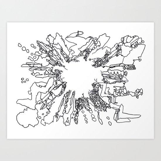 BOOM Ink3 Art Print