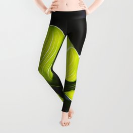 Green Contrast - Light and Dark Leggings