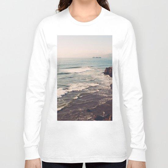 Vintage Ocean #landscape Long Sleeve T-shirt