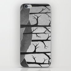 Abstract Forest Scene iPhone & iPod Skin