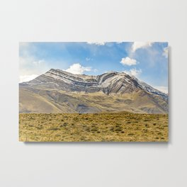 Snowy Mountains Patagonia Argentina Metal Print