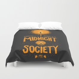 Are You Afraid of the Dark? Duvet Cover
