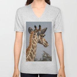 Giraffe 9 Unisex V-Neck
