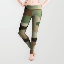 Military Camouflage: Woodland Leggings