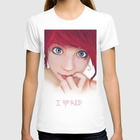 redhead T-shirts featuring Redhead by womoomow