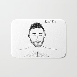 Beard Boy: Andres Bath Mat