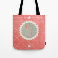 house md Tote Bags featuring MD by motiondoom