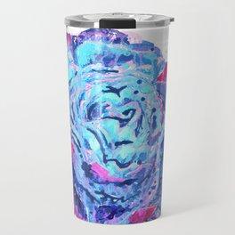 Weeping Blue Rose Travel Mug