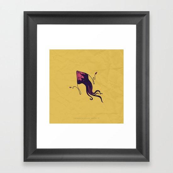 d4 Framed Art Print