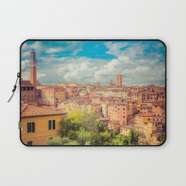 A View of Siena Italy Laptop Sleeve