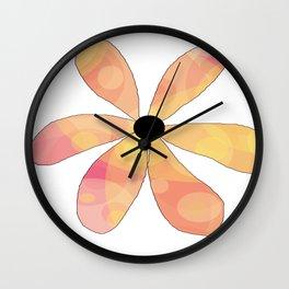FLOWERY MATHILDE / ORIGINAL DANISH DESIGN bykazandholly Wall Clock
