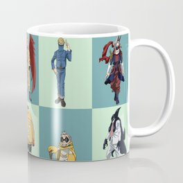 My Hero Academia 20 Heroes Coffee Mug