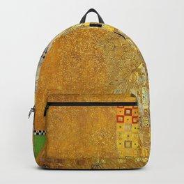 Gustav Klimt - Adele1 Bloch-Bauers Portrait - Digital Remastered Edition Backpack