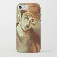 kieren walker iPhone & iPod Cases featuring In the Flesh - Kieren Walker by SandraG.N.