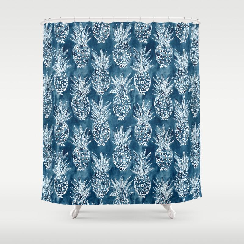 dark shower curtains society6. Black Bedroom Furniture Sets. Home Design Ideas