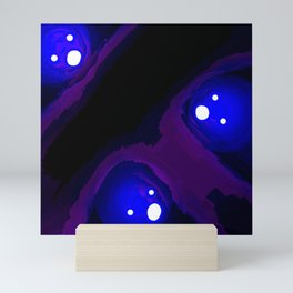 Ghostly Blues Mini Art Print