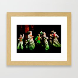 Sufi Dance Framed Art Print