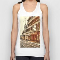 broadway Tank Tops featuring Give My Regards To Broadway by Christine Workman