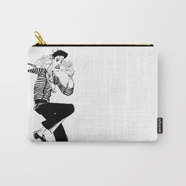 Mime (An invisible wall) Carry-All Pouch