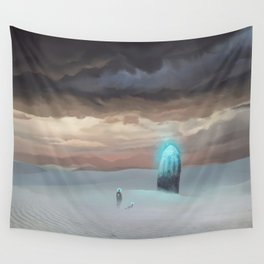 Ancient Obelisk Wall Tapestry