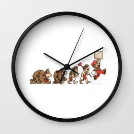 8-Bit Evolution Mario Wall Clock