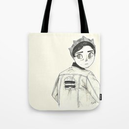 Riverdale's Jughead - Burguer King - Cole Sprouse inspired Tote Bag