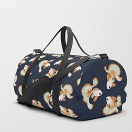 Three tosakin goldfish Duffle Bag