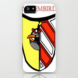 The Angry Nuernberg Nurembird iPhone Case