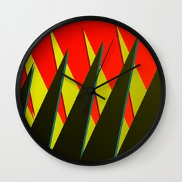 Saw teeth Wall Clock
