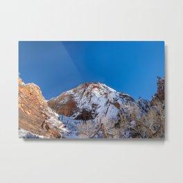 Zion Winter - 4536 Big_Bend_Viewpoint Metal Print