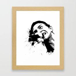 Drop the leash Framed Art Print