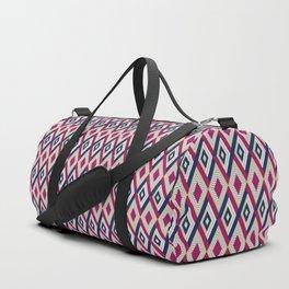 AFE Diamond  Pattern Duffle Bag