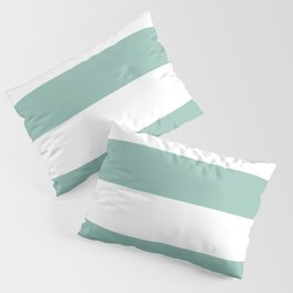 Maine Ocean Cabana Stripes Pillow Sham