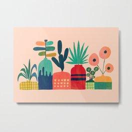 Plant mania Metal Print