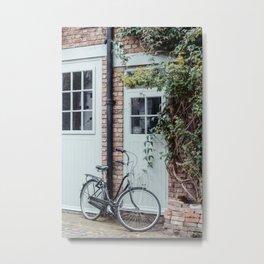 london bicycle Metal Print