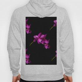 Dark Orchid Floral Hoody