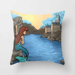 Part Of That Wizarding World Throw Pillow