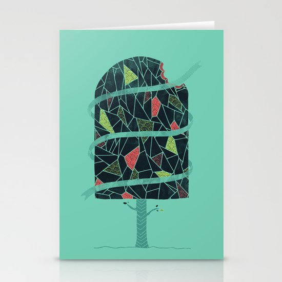 The Winter Tree Stationery Cards