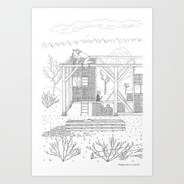 beegarden.works 007 Art Print