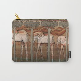 Jupiter Elephants Carry-All Pouch