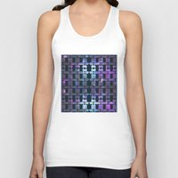 the shining Tank Tops featuring Shining Shapes by Nahal