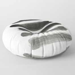 Shades of Gray Floor Pillow