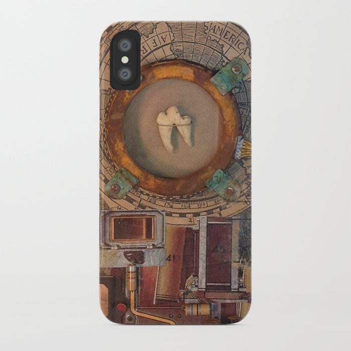 St Badger Reliquary  iPhone Case