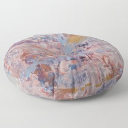 Mirage [3]: a pretty, vibrant mixed-media piece by Alyssa Hamilton Art Floor Pillow